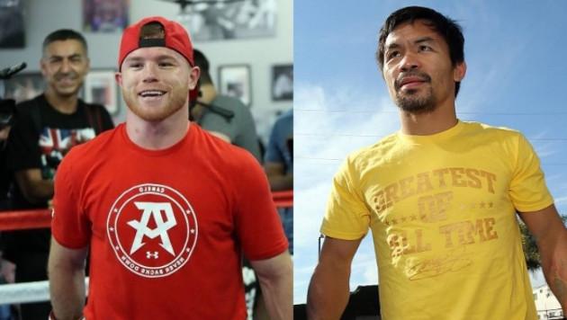 Альварес и Пакьяо оказались единственными боксерами в списке 100 самых известных спортсменов мира