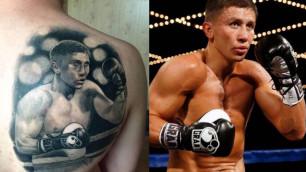 Фанат из Караганды рассказал, как и зачем сделал татуировку с изображением Геннадия Головкина
