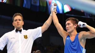 Чемпион Азиатских игр Сулейменов вышел в 1/2 финала Кубка Президента