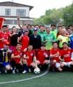 Сборная EML стала серебряным призером первого чемпионата Алматы среди СМИ по футболу