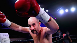 Бросивший вызов Головкину в костюме Бората боксер не сомневается в победе Сондерса над GGG