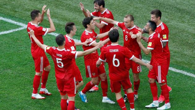 Сборная России победила Новую Зеландию в матче открытия Кубка конфедераций
