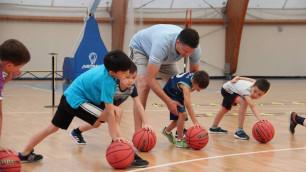 С прицелом на НБА. В Астане запустили детский баскетбольный лагерь по примеру ведущих лиг мира