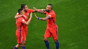 Футболисты сборных Германии и Чили сыграли вничью в матче Кубка конфедераций-2017