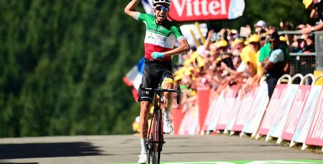 "Капитан ""Астаны"" Фабио Ару выиграл пятый этап ""Тур де Франс"""