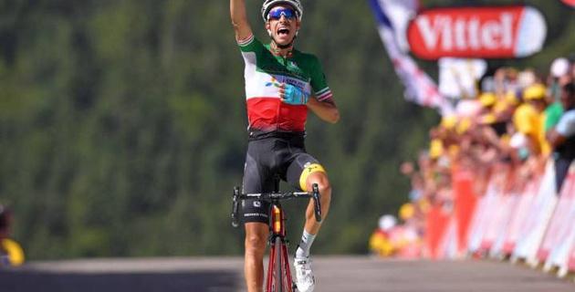 """Капитан """"Астаны"""" Фабио Ару сохранил третье место в общем зачете """"Тур де Франс"""" после седьмого этапа"""