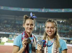 Сборная Казахстана заняла третье место в медальном зачете чемпионата Азии по легкой атлетике