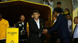 """Дома против """"Скендербеу"""" мы будем атаковать, но важно сохранить ворота """"сухими"""" - тренер """"Кайрата"""""""