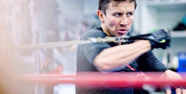 Головкин опубликовал первые фотографии с тренировок перед боем с Альваресом