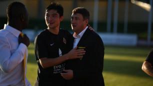 """Я не считаю, что на фланге Елдоса Ахметова был провал - тренер """"Кайрата"""" о матче со """"Скендербеу"""""""