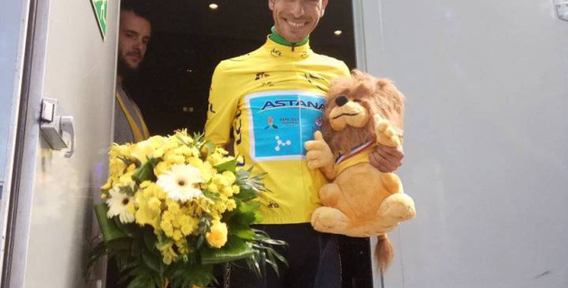 "Капитан ""Астаны"" Фабио Ару сохранил желтую майку по итогам 13-го этапа ""Тур де Франс"""