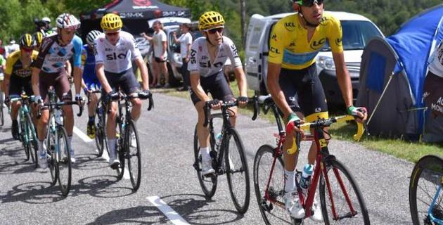 """Стараюсь относиться спокойно к своему лидерству на """"Тур де Франс"""". Впереди еще долгий путь до Парижа - Ару"""