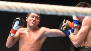 Непобежденный казахстанец Мейирим Нурсултанов нокаутировал соперника в первом раунде