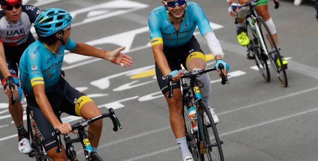 """Луценко в отрыве. Как """"Астана"""" боролась за победу на 18-м этапе """"Тур де Франс"""""""