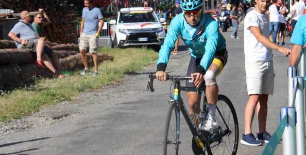 """Я рад, что после такого падения могу бороться за победу на этапе """"Тур де Франс"""" - Луценко"""