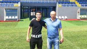 Казахстанcкий футболист дебютировал в чемпионате Болгарии