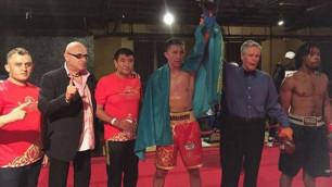 Два казахстанских боксера отправили в нокаут американцев в дебютных боях на профи-ринге в США