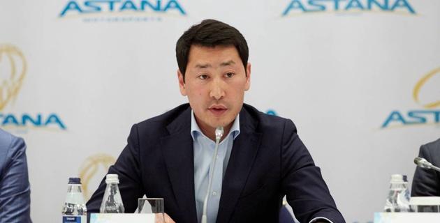 """Пример - """"Барселона"""". Аманбек Кульчиков рассказал, что в ближайшее время изменится в """"Астане"""""""