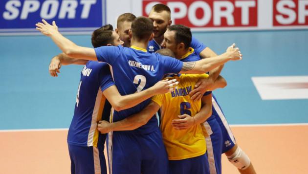 Мужская сборная Казахстана по волейболу отыгралась с 0:2 и вышла в финал чемпионата Азии