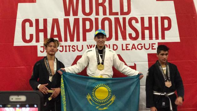 """Казахстанский спортсмен завоевал """"золото"""" на Jiu-Jitsu World League"""