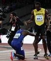 Завершающий карьеру Усэйн Болт занял третье место в стометровке ЧМ по легкой атлетике в Лондоне