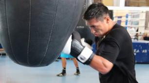 Очень рад вернуться на ринг - Жанибек Алимханулы о бое в Астане