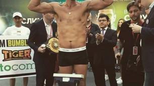 Непобежденный казахстанец Акбербаев вернулся в ТОП-15 WBA после победы нокаутом над претендентом на титул чемпиона мира