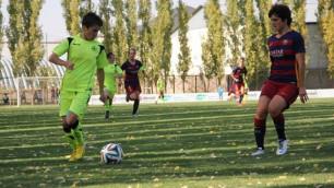 """Футболистки """"БИИК-Казыгурта"""" после 77 минут в меньшинстве одержали вторую победу в Лиге чемпионов"""
