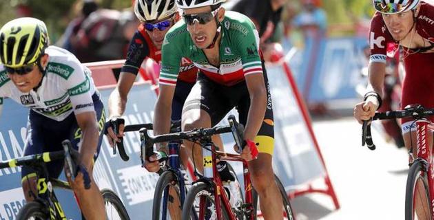 """Фабио Ару поднялся на две позиции в общем зачете после восьмого этапа """"Вуэльты"""""""