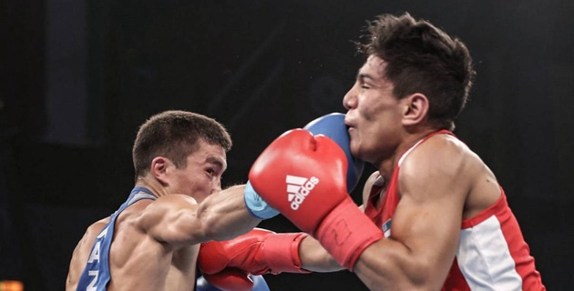 Видео красивой победы Кайрата Ералиева над первым номером ЧМ-2017 по боксу из Узбекистана