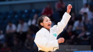 Дзюдоистка Галбадрах Отгонцэцэг принесла Казахстану первую медаль на чемпионате мира-2017