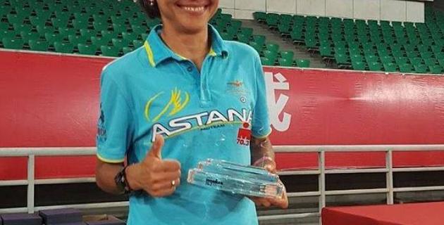 Казахстанка Нагима Керимбаева завоевала путевку на чемпионат мира по супертриатлону IRONMAN