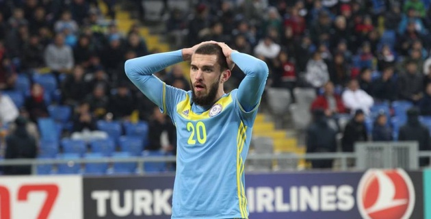 Хижниченко - о матче с Черногорией, полезном опыте в Беларуси и нагоняе во время игры с Польшей