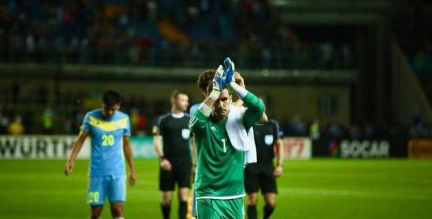 Сборная Казахстана по футболу в ноябре может провести товарищеский матч с Россией