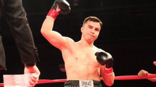 Казахстанский боксер-профессионал рассказал о вкладе Жирова в подготовку к бою в США