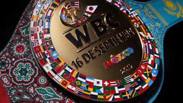 WBC представил специальный пояс для победителя боя Головкин - Альварес