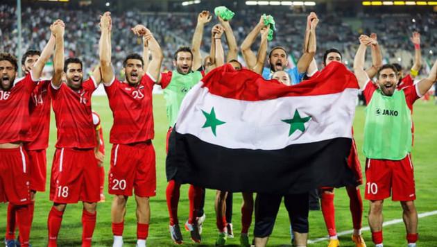Сирийский комментатор заплакал в прямом эфире после гола его сборной на 93-й минуте