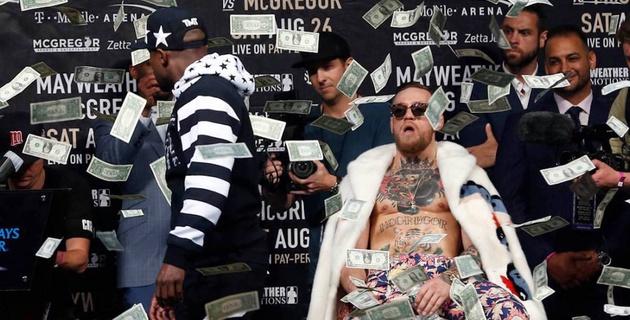"""Бой Мейвезер - МакГрегор почти вдвое превзошел поединок Головкин - """"Канело"""" по доходам от продажи билетов"""