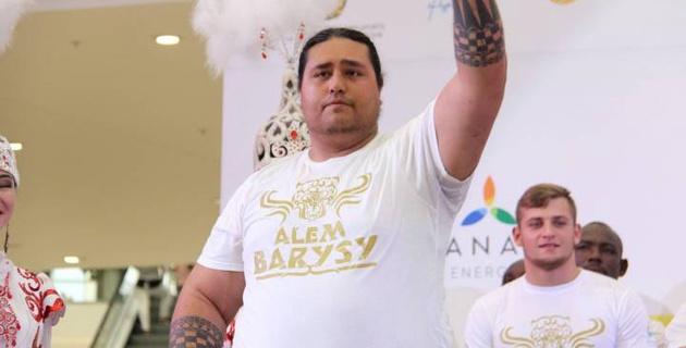 """За 15 миллионов тенге. Кто остановит 175-килограммового борца из Новой Зеландии на """"Алем Барысы"""" в Астане?"""