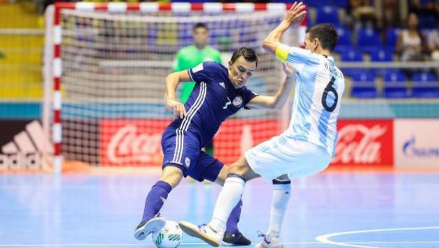 Прямая трансляция матча сборной Казахстана по футзалу с чемпионом мира Аргентиной