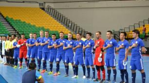 Сборная Казахстана по футзалу победила призера чемпионата Африки на международном турнире в Таиланде