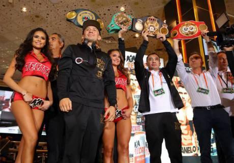 Геннадий Головкин. Фото: boxingscene.com