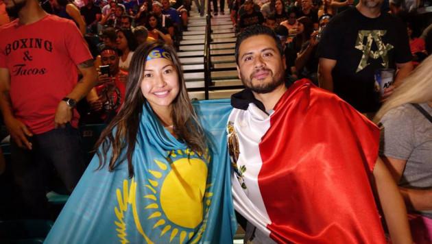 Болельщики со всего мира собираются в Лас-Вегасе, чтобы поддержать Геннадия Головкина