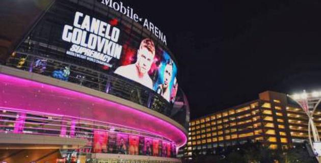 """Бой Головкина и """"Канело"""" установил рекорд посещаемости на T-Mobile Arena"""