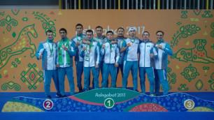 Сборная Казахстана по муайтай завоевала семь медалей на Азиатских играх в помещениях