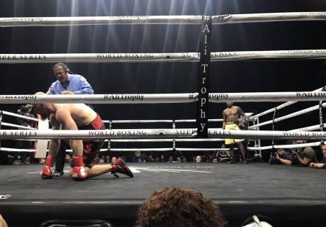 Видео полного боя 1/4 финала Всемирной боксерской суперсерии Дортикос - Кудряшов