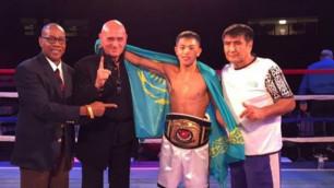 Казахстанские боксеры Балоев и Харсан продолжили досрочную победную серию на профи-ринге