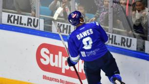 Шайбы Доуса и Пушкарева вошли в десятку лучших игровой недели КХЛ