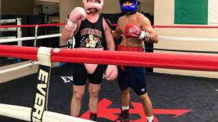 Помогавший Альваресу готовиться к бою с Головкиным казахстанский боксер рассказал о следующем поединке
