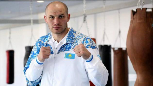 Казахстанский боксер-тяжеловес Иван Дычко с досрочной победы дебютировал на профи-ринге